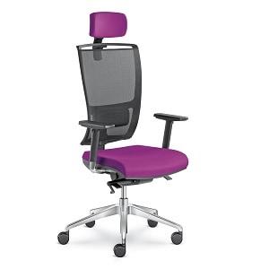 LD Seating LYRA NET fotel obrotowy